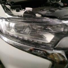 Защита оптики Mitsubishi Outlander полиуретаном