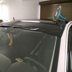 Покрытие верха Mitsubishi Outlander в черный глянец