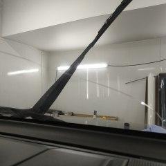 Ремонт дефекта лобового стекла Mitsubishi Pajero Sport