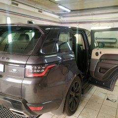 Тонирование задних стекол Range Rover пленкой Llumar