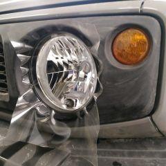 Антигравийная оклейка оптики Suzuki Jimny