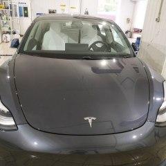 Защита оптики Tesla пленкой