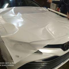 Защита переда и зон риска Toyota Camry полиуретаном