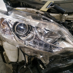 Бронирование оптики Toyota Camry
