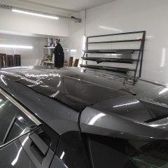 Покрытие крыши и спойлера Toyota CH-R в черный глянец