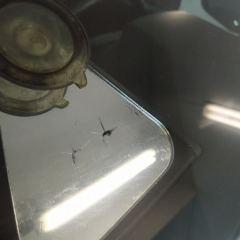 Устранение скола на стекле Toyota Land Cruiser 200