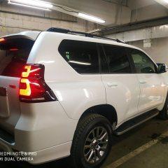 Тонировка задней полусферы Toyota Land Cruiser Prado 300