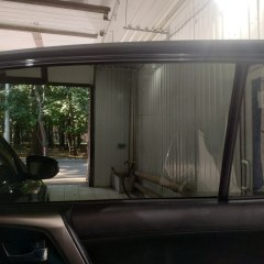 Тонирование задних стекол Toyota RAV4