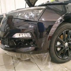 Защита передних элементов Volkswagen Polo пленкой