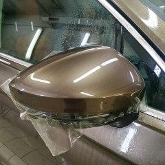 Оклейка фар и боковых зеркал Volkswagen Tiguan
