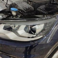 Полировка и оклейка полиуретаном оптики Volkswagen Tiguan