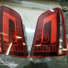 Защита задних фонарей Volkswagen Touareg