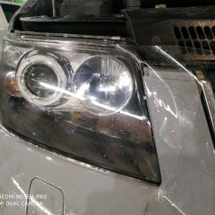 Бронирование фар Volkswagen Transporter T5 пленкой