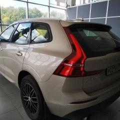 Тонирование задних стекол Volvo XC60 плёнкой NDFOS